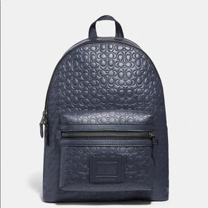NWT COACH Academy Backpack In Signature Leather